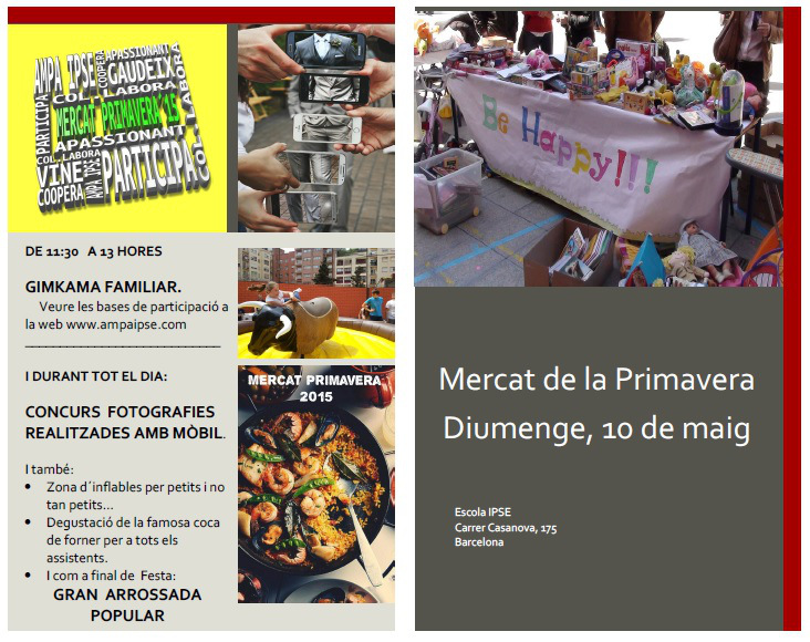 Programa Mercat de primavera 2015